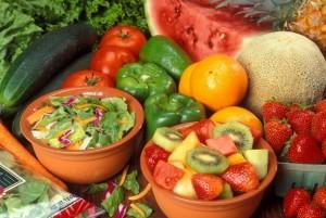 Manger paléo, des légumes et des fruits