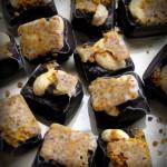 Chocolats au pollen et noix de cajou