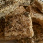 crackers paléo