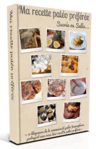 couverture du livre de l'événement ma recette paléo préférée