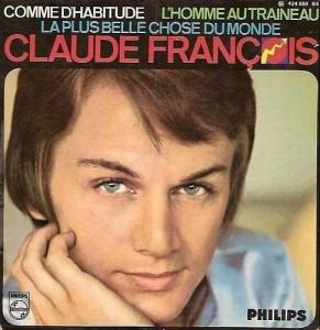 Couverture du disque de Claude François
