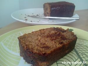 recette de cake paléo à la banane
