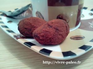 recette paleo de truffes aux feves de cacao