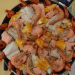 choucroute, gambas, crevettes, poissons